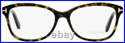 Tom Ford Oval Eyeglasses TF5404 052 Dark Havana 53mm FT5404