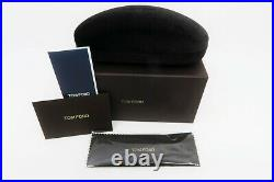 Tom Ford Pia Black Mirror Lens, Women Sunglasses, New withBox TF 659 01Z 48mm