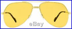 Tom Ford Pilot Sunglasses TF644 Wilder-02 32J Gold/Havana 62mm FT0644