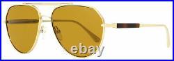 Tom Ford Pilot Sunglasses TF670 Andes 28E Gold/Havana 61mm FT0670