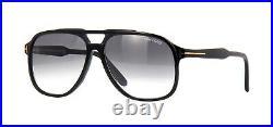 Tom Ford RAUL FT 0753 Black/Grey Shaded (01B) Sunglasses