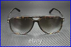 Tom Ford Raoul FT0753 52K Dark Havana Gradient Roviex 62 mm Men's Sunglasses