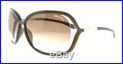 Tom Ford Raquel TF76 692 Brown Women's Soft Square Sunglasses