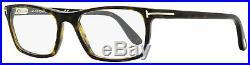 Tom Ford Rectangular Eyeglasses TF5295 52A Dark Havana 54mm FT5295