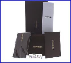 Tom Ford Rita TF 225 01B Black & Gold / Brown Gradient Women's Sunglasses