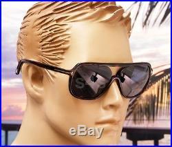 Tom Ford Robert Unisex Aviator Sunglasses DARK HAVANA TORTE BLUE FT 0442 52V