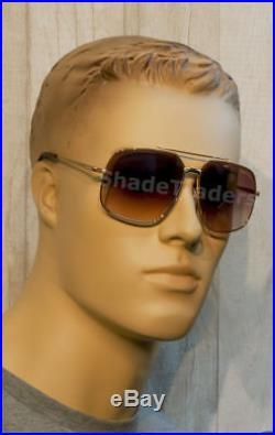 Tom Ford Ronnie Aviator Sunglasses Shiny Brown Gold Brown Gradient Ft 0439 48f