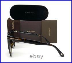 Tom Ford SABRINA FT0764 52H Dark Havana / Brown Polarized 58mm Sunglass TF0764