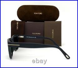 Tom Ford SNOWDON FT0237 Black / Blue 52mm Sunglasses TF0237