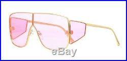 Tom Ford SPECTOR FT 0708 Gold/Pink (33Y) Sunglasses