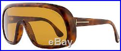 Tom Ford Shield Sunglasses TF471 Sven 56E Havana FT0471
