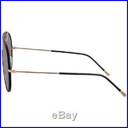 Tom Ford Smoke Shield Sunglasses FT0671 01A 137 FT0671 01A 137