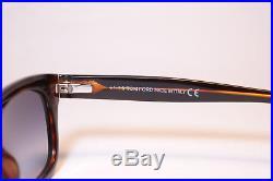 Tom Ford Snowdon TF 237 05B 5021 Schwarz Braun oval Sonnenbrille NEU