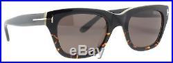 Tom Ford Snowdon TF 237 05J Black/Havana Unisex Wayfarer Sunglasses