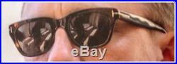 Tom Ford Snowdon TF 237 52N James Bond Spectre Dark Havana Sunglasses 50mm