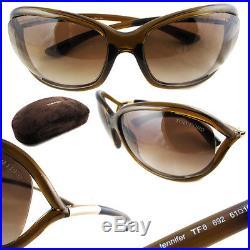 Tom Ford Sonnenbrille 0008 Jennifer 692 Kristall Braun / Braun verlaufend