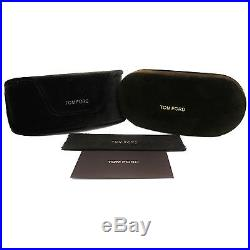 Tom Ford Sonnenbrille 0009 Whitney 199 Glänzend Schwarz Smoke Grau