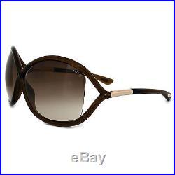 Tom Ford Sonnenbrille 0009 Whitney 692 Kristall Braun / Braun verlaufend