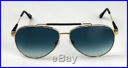 Tom Ford Sonnenbrille Rick Sunglasses TF378/S 28W Metall Gold Pilot Verlauf