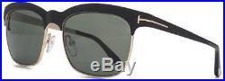 Tom Ford Sonnenbrille Tf437 Polarisiert Schwarz Gold Herren River Damen Brille