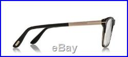 Tom Ford Square Optical Glasses Frame Shiny Black Grey Horn Rose Gold 5351 005
