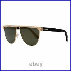 Tom Ford Stephanie Aviator Sunglasses TF570 28C Gold 60mm 570
