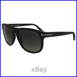 Tom Ford Sunglasses 0236 Olivier 02D Matt Black Smoke Grey Polarized