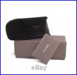 Tom Ford Sunglasses 371 TF0371-F 01B Black Anoushka Asian Fit Gray Gradient NEW