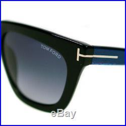 Tom Ford Sunglasses Celina Ladies Black & Blue Grey Gradient Lens TF361 01A