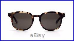 Tom Ford Sunglasses Frank FT0399 56N Classic Havana Frame Green Lens