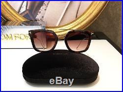 0efe45776b379 Tom Ford Sunglasses Occhiale sole ALEX -02 TF541 Col. 55U Havana New  Collection