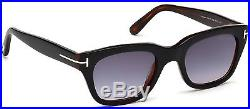 Tom Ford Sunglasses Snowdon TF 237 05B 50mm Black-Havana / Gray Gradient FT0237