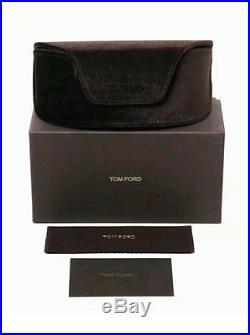 Tom Ford Sunglasses TF 371 Anoushka 20G Gold Mirror Women Cateye Italy Case NEW