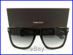 Tom Ford Sunglasses TF513 Morgan Black Havana 05B FT0513/S New Authentic
