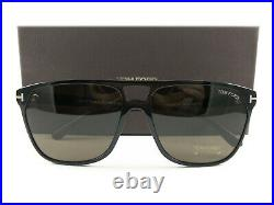 Tom Ford Sunglasses TF679 Shelton Black Brown 01E FT0679/S New Authentic