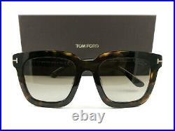 Tom Ford Sunglasses TF690/F/S Sari 52H Havana Brown Polarized FT0690/F/S New