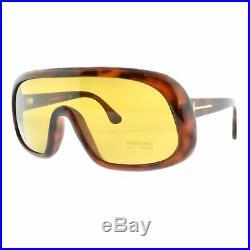 Tom Ford Sven TF0471 56E Havana Mask Full Rim Women 100% UV Sunglasses