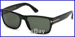 Tom Ford TF 0445 Mason Sunglasses col. 01NBlack/Green lenses new