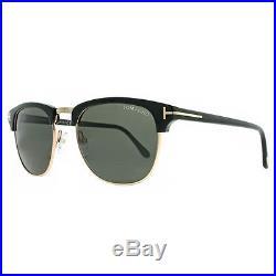 Tom Ford TF 248 Henry 05N Gold/Black Men's Sunglasses