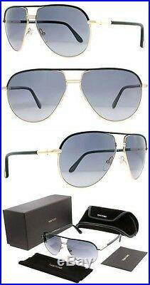 c7fe34c1f6b Tom Ford TF 285 COLE 01B Gold Black Grey Gradient Men Sunglasses ITALY  Authentic