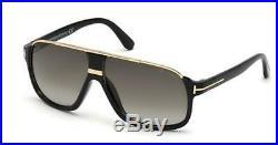 Tom Ford TF 335 FT0335 Eliott shiny blk gradient green 01P Sunglasses