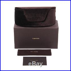 Tom Ford TF 431 Greta 01Z Black Gray Gradient Women's Geometric Sunglasses