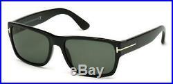 Tom Ford TF 445 FT0445 Mason shiny blk green lenses 01N Sunglasses