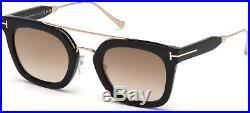 Tom Ford TF 541 FT0541 Alex-02 shiny blk gradient brown 01F Sunglasses