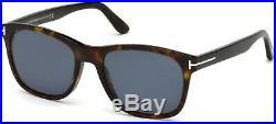 Tom Ford TF 595 FT0595 Eric-02 shiny dark havana polarized 52D Sunglasses