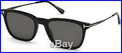 Tom Ford TF 625 FT0625 Arnaud-02 shiny blk shiny polarized 01D Sunglasses