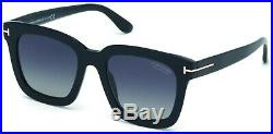 Tom Ford TF 690 FT0690 -F Sari shiny blk gradient polarized 01D Sunglasses