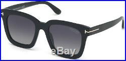 Tom Ford TF 690 FT0690 Sari shiny blk gradient grey polarized 01D Sunglasses