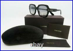 Tom Ford TF660 01C 53mm New Autumn Black Mirrored Sunglasses with box
