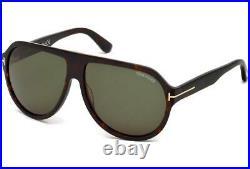 Tom Ford TRUMAN FT0464 52N Havana Sunglasses Sonnenbrille Shades Green Lens 49mm